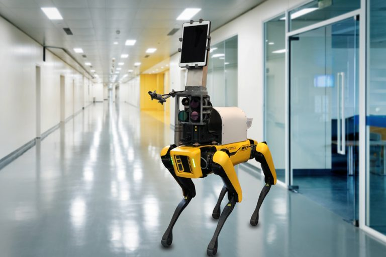 Robot takes contact-free measurements of patients' vital signs – MIT News