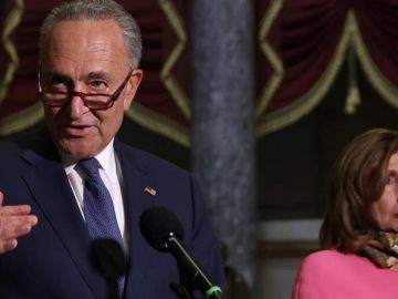 Schumer, in rare move, takes control of floor to force health care vote
